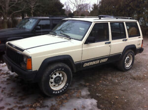 1986 XJ Cherokee Chief