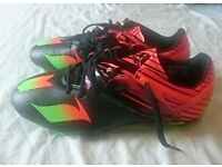 Adidas football boots size 3.5, worn once