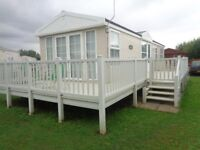 luxurious static caravan sited by the sea in sunny hunny - Hunstanton - Norfolk - inc 2017 Site Fees