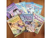 7 Winnie the Witch Paperback books.