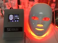 Super LED facial chromatherapy light by SKIN MATE