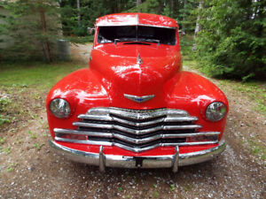 1948 Chev, Coupe All Steel Street Rod.