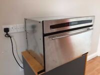 Used Stainless Steel Neff Steam Oven B8720N0GB in Good Working Condition