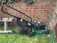 Free lawnmower