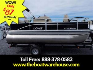 2017 Lowe Boats Ultra 162 Fish  Cruise Mercury 40HP Live Well F.