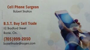 Your local ( Barrie) Cell Phone Surgeon (CELL PHONE REPAIR)