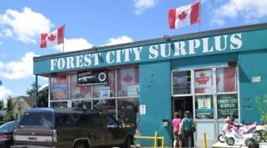 FOREST CITY SURPLUS GIFT CARDS - SAVE $60!! ($337 dollar value)
