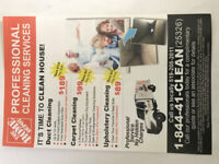 Home Depot Carpet Cleaning - 3 Rooms & Hallway $99