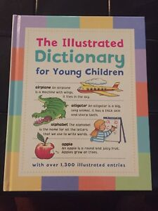 "**NEW** ""The Illustrated Dictionary for Young Children """