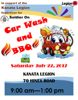 CAR WASH AND BBQ IN SUPPORT OF SOLIDER ON