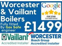 Boiler Installation, Repair & Service/ FREE Extended Warranty Vaillant & Worcester / Gas certificate