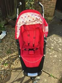 Zia 2 Pink Stroller - Great condition