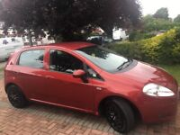 2008 FIAT GRANDE PINTO SALE 30£ road tax,cheap insurance,ideal for first car!