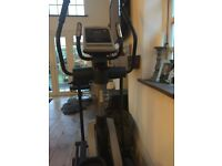 Nordic Track Cross Trainer - pre set programmes or design your own. Built in fan. iFit. BARGAIN.