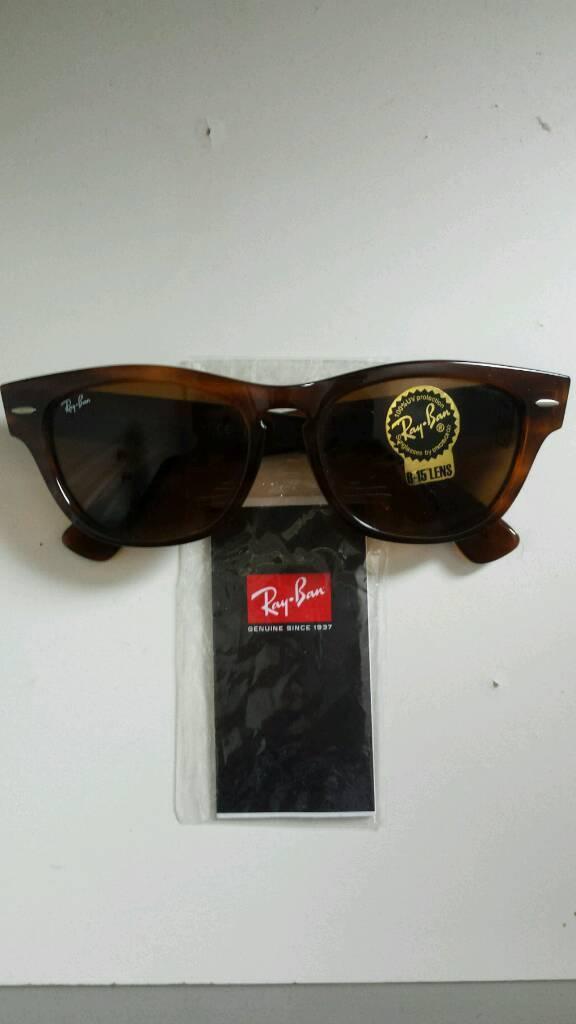 Rayban sunglasses genuine wayfarer