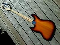 Fender Squire Jazz Bass Guitar.