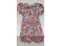 Girls' Dress with matching hat