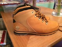 Men's timberland boots size 9