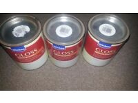 Gloss quick dry soft gray paint