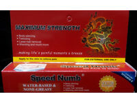 Speed Numb Numbing Cream Tattoo Piercing Botox Waxing Permanent make up with Free Postage!