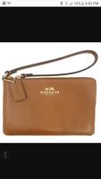 Tan coach wallet