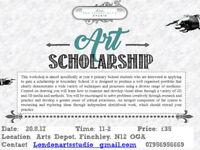 Art Scholarship workshop