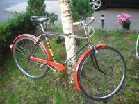 Vintage Vindec of England single speed bike.