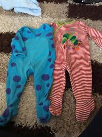 3-6 Month Sleep suits