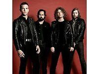 The Killers 20th November Glasgow SSE Hydro