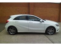 Beautiful white Mercedes a class a200 Panoramic roof