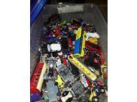 Die cast cars box of..