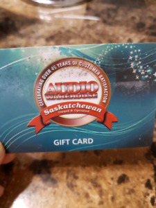 Audio warehouse Gift card for sale