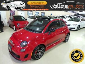2015 Fiat 500C Abarth CABRIO| AUTO| PANO RF| LEATHER