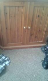 Pine Corner unit (cupboard)