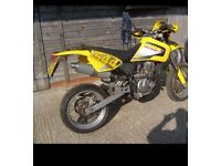 Ccm 644 ds 2003 supermoto not drz, ktm, Honda ,