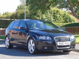 AUDI A3 2.0 TDI S LINE 2 OWNERS,FULL SERVICE HISTORY