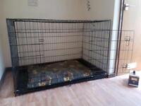 Dog large crate