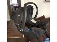 Joie baby carrier car seat