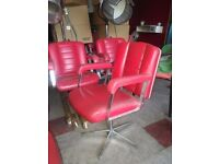 Used retro chairs