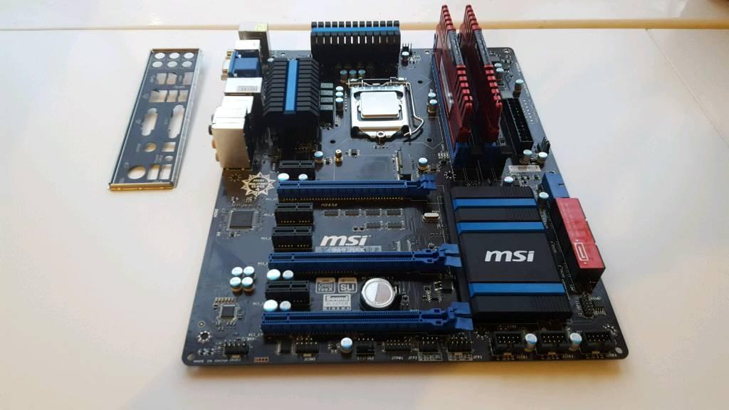 Desktop Gaming Pc Motherboard Bundle In Peterborough