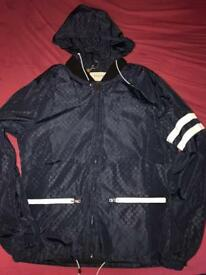 Navy GG Gucci Jacket Brand New Size M