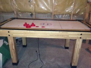 COOPER TOP ACTION AIR HOCKEY TABLE -- $100