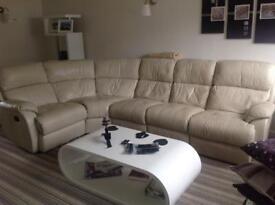 Corner modular sofa