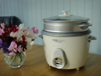RICE and PASTA COOKER/STEAMER. Morphy Richards model 48740. Excellent working + cosmetic condition.