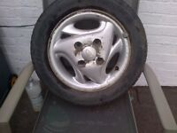 daewoo matiz alloy wheel