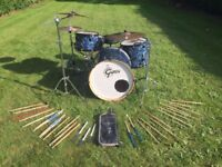 Gretsch Catalina Club Drum Kit - Includes all hardware/Cymbals/Pearl Soft Cases