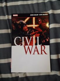 Marvel Civil War Graphic Novel, excellent condition
