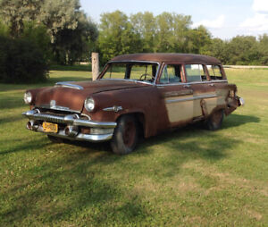 1954 Mercury Monterey Woodie Station Wagon rare project or parts