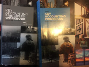 Principles of accounting text book and work book