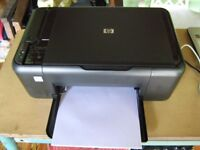 HP deskjet F2480 printer scanner and photo copier in very good condition